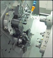 Swiss-type turning and milling center