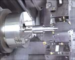 Switching production of this rod piston