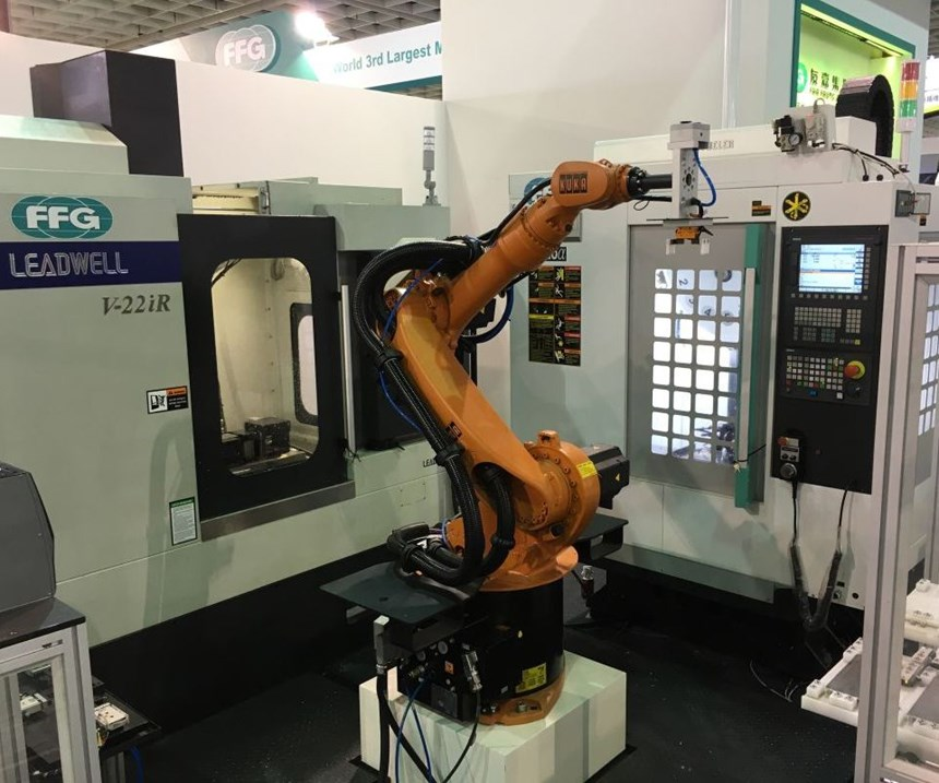 Siemens and Kuka Robotics cell
