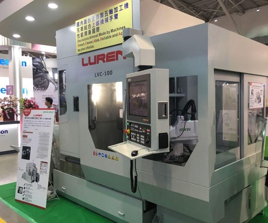 Luren LVC-100/LVG-100 five-axis machining center