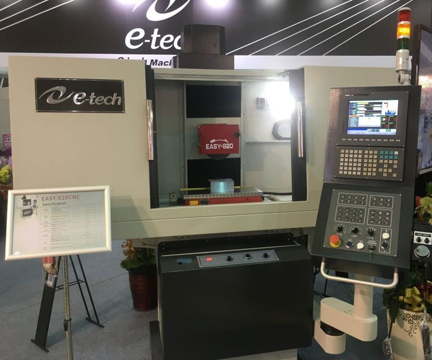 E-Tech Machinery Easy surface grinding machines