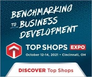 Top Shops Benchmarking Banner