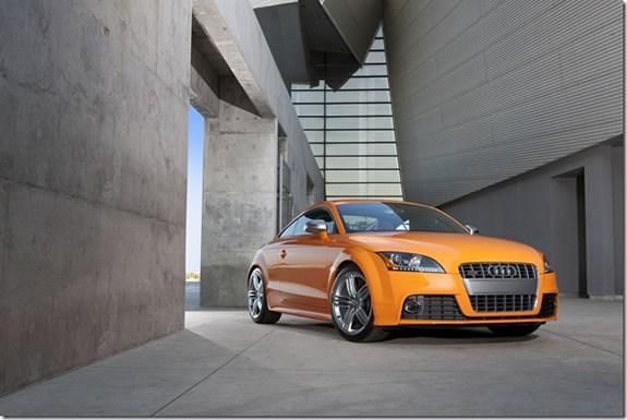 Audi TTS TFSI Quattro STronic Coupe Automotive Design - Audi tts