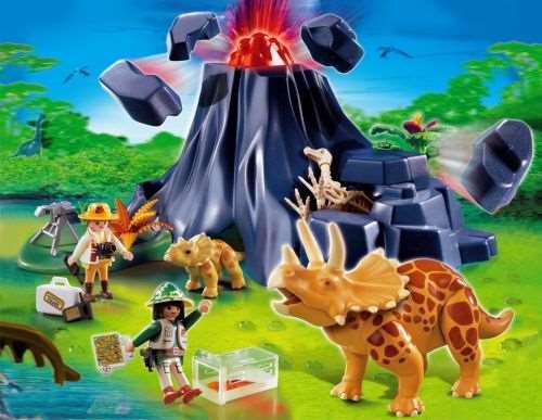 Playmobil 5320 vulkan