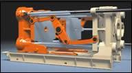 Tandem mold-carrier system