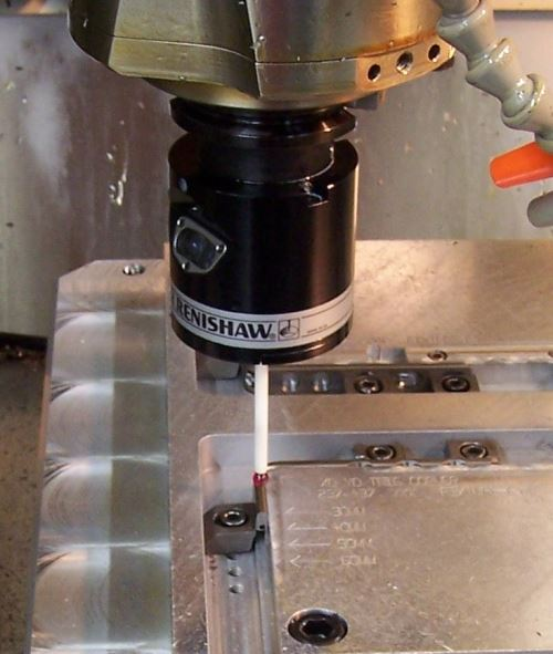 Inspecting parts on a machine tool