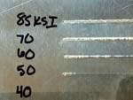 Test strip 1