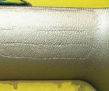 incorrectly prepared welds