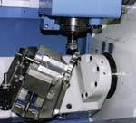 The Variaxis' spindle head