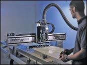 The affordable LC Series CNC router