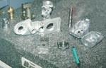 The aluminum bracket