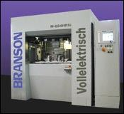 The industry's first all-electric vibration welder