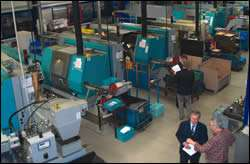 The single-spindle department at WST