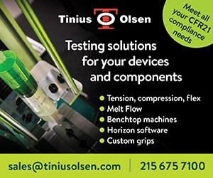 Tinius Olsen Testing Solutions