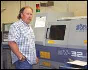 Todd Egland, EPC production manager
