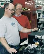 Todd Gasperlin and John Bowden