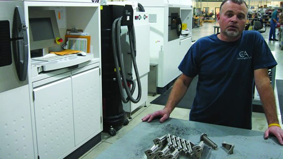Tony Stinson CandA employee