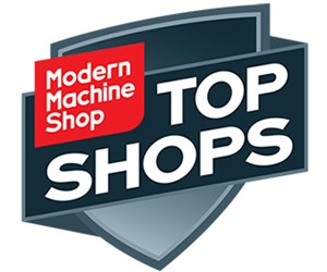 display of machined logos