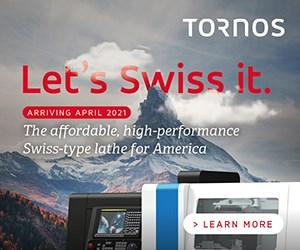 Tornos Swiss-Type Lathe