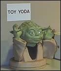 Toy Yoda