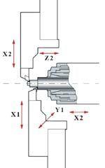 Traub Twin Turret Diagram