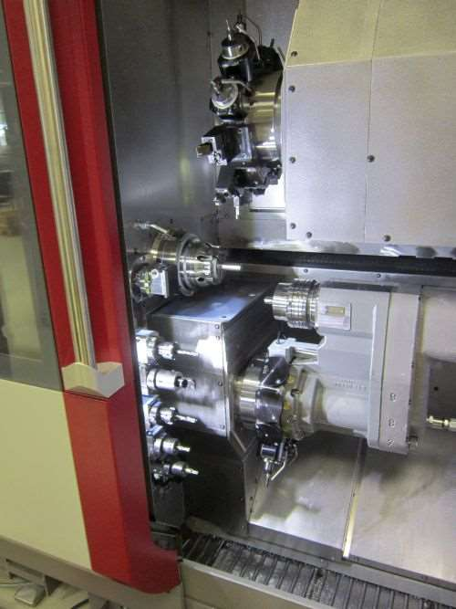 Traub's TNK series of fixed-headstock machines
