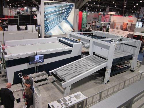 A Technology Sampling From Fabtech 2012 Modern Machine Shop