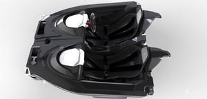 Rp1 carbon fiber tub