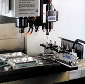 Twin Spindle tool changer
