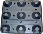 Twin-sheet pallet from Novo Foam Products