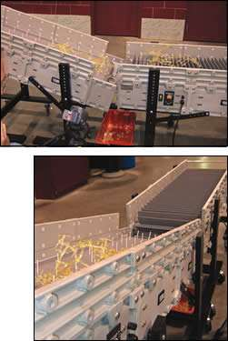 Two conveyors solved a partsrunner-separation problem