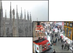 Two important destinations in Milan