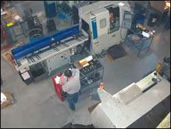 Two lathes