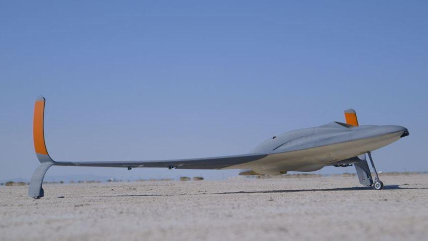 3D-printed unmanned aerial vehicle