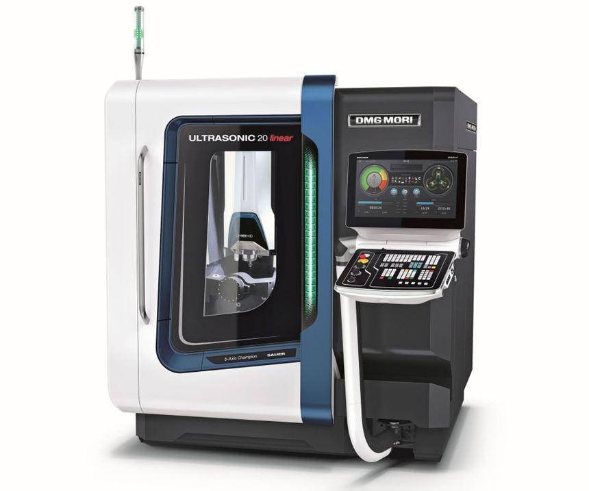 DMG MORI Ultrasonic 20 linear