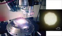 Ultraviolet laser machining