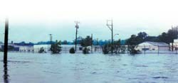 Unitech's facility flooded