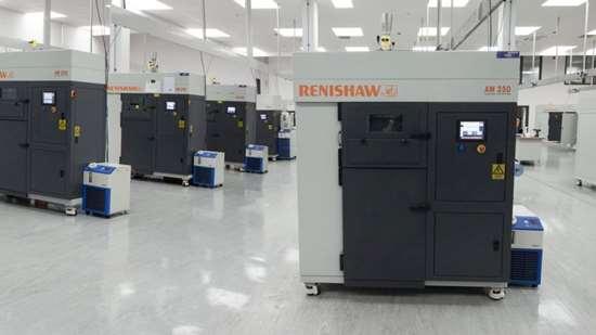 Renishaw AM 250 machines