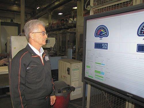Using MTConnect-enabled machine monitoring systems at Mazak