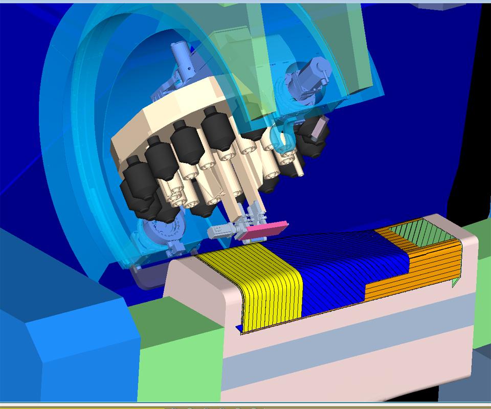 VCS 8 spar simulation CGTech