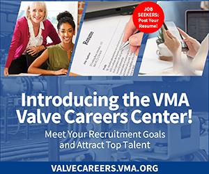 VMA Valve Careers Center