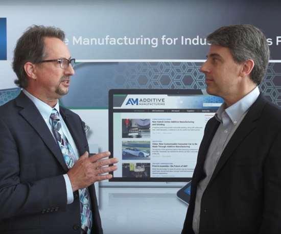 video update on hybrid manufacturing with Greg Hyatt