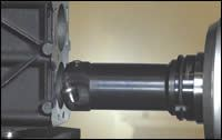 View 2 of a rotary-insert tool