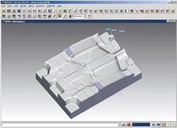 Virtual simulation of cutting process