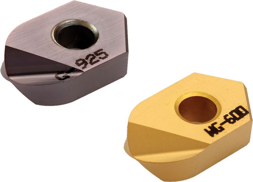 Excelerator Ballnose Milling Inserts