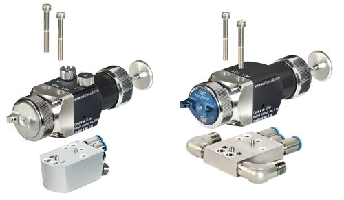 WA 900 automatic spray gun from Walther Pilot