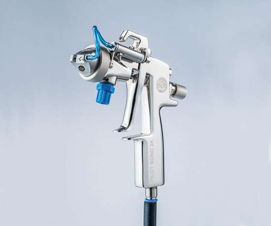 Walther Pilot Two-Component Spray Gun