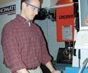 Washington University researcher Sean Calvert