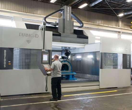 composites machining