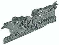 Wincor Nixdorf printer motor carrier guide